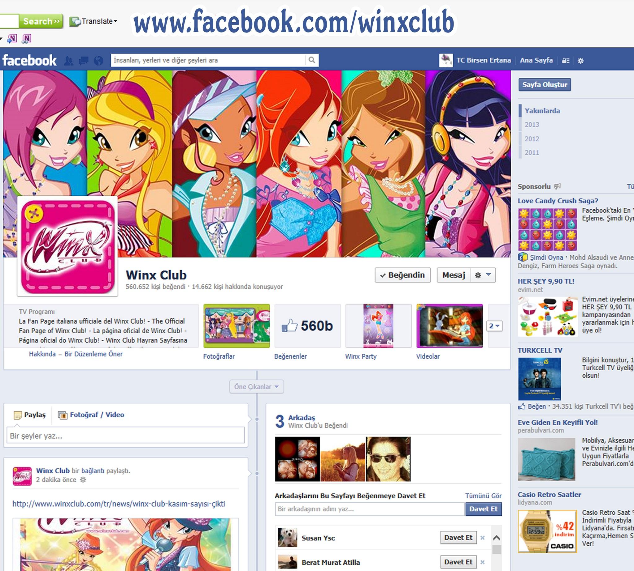 winx facebook